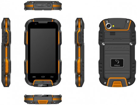Новый четырехъядерный защищенный смартфон Sigma mobile X-treme PQ22 появился в продаже