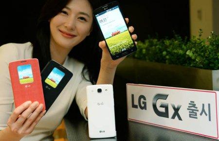 """Представлен планшетофон LG GX с 5,5"""" экраном и чипсетом Snapdragon 600"""