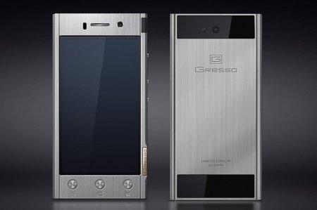 Gresso Radical — Android-смартфон в корпусе из титана по цене от 55 000 рублей