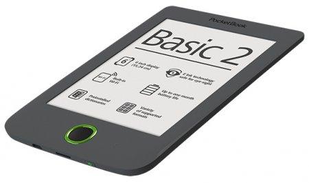 Новый PocketBook Basic 2 – простота и комфорт электронного чтения
