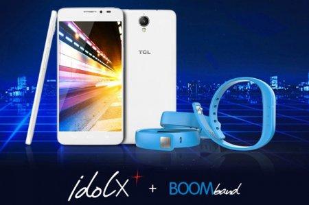 Представлен смартфон TCL Idol X+ с фитнес-браслетом в комплекте