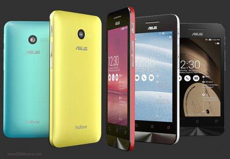 CES 2014: три «атомных» смартфона ASUS из линейки Zenfone Series