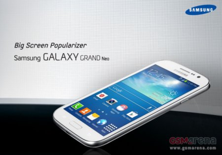 Известна дата европейского релиза Samsung Galaxy Grand Neo