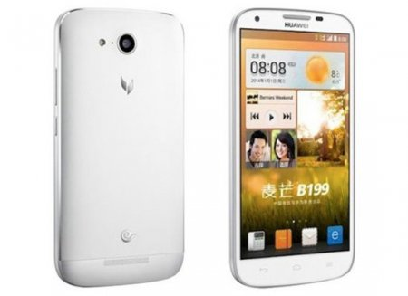 Смартфон Huawei B199 с аккумулятором ёмкостью 3000 мА•ч