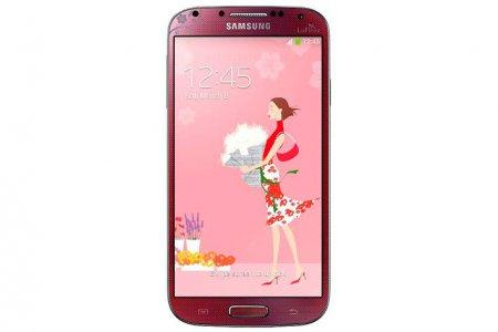 Samsung Galaxy S4 La Fleur: смартфон ко Дню святого Валентина