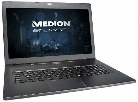 Игровой ноутбук Medion Erazer X7611 выполнен в корпусе толщиной 23 мм