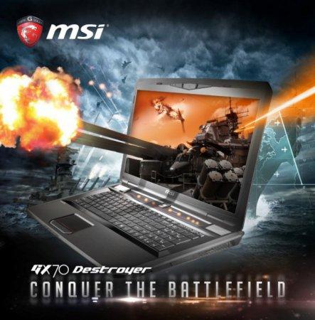 Игровые ноутбуки MSI GX70 Destroyer и GX60 Destroyer с видеокартой AMD Radeon R9 M290X