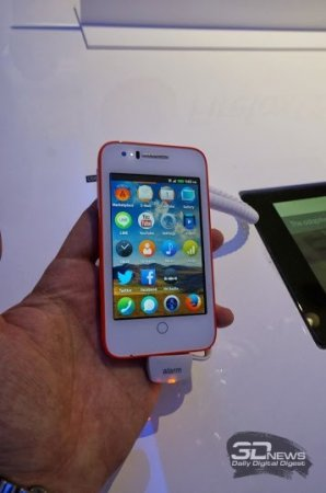 MWC 2014: Firefox-смартфоны Alcatel OneTouch Fire C, E и S и планшет Fire 7