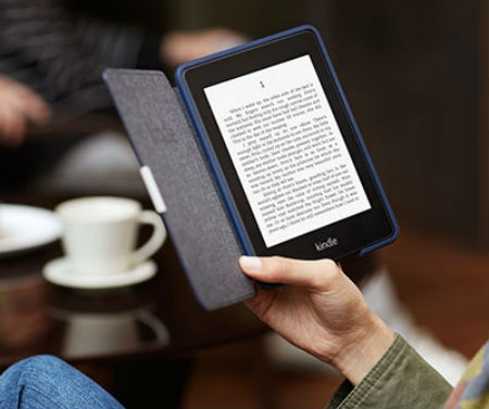 Следующий е-ридер Amazon Kindle Paperwhite получит гибкий дисплей E-Ink Mobius?