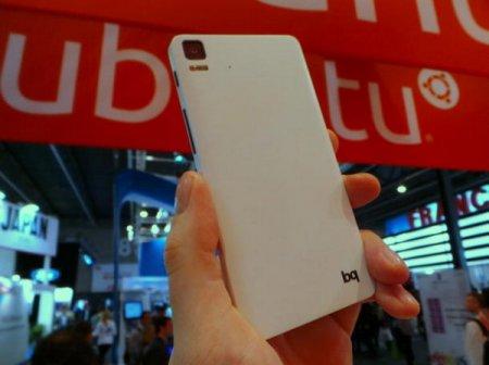 На выставке MWC 2014 можно было видеть смартфоны Meizu и BQ с ОС Ubuntu Phone