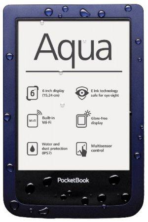 PocketBook Aqua – новый ридер с полной защитой от воды и пыли