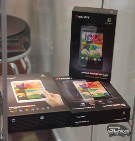 CeBIT 2014: смартфон iconBIT Callisto 100 в виде наручных часов