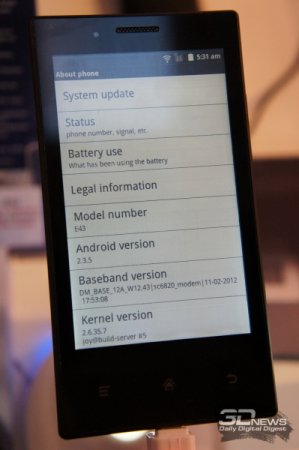 CeBIT 2014: смартфон Onyx MIDIA InkPhone с E Ink-экраном поступит в продажу по цене 140 евро
