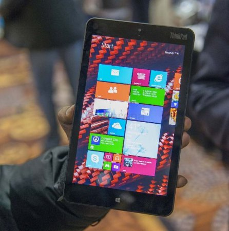 Планшет Lenovo ThinkPad 8 c 4G доступен для предзаказа в Китае за $486