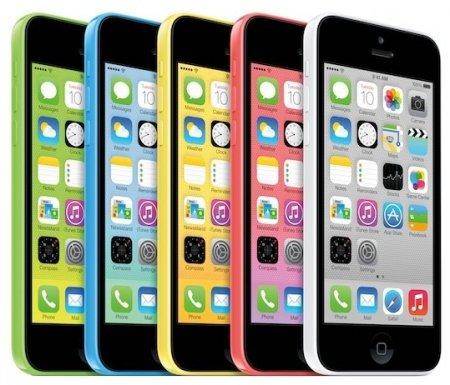 Во вторник начнутся продажи iPhone 5c с 8 Гбайт памяти