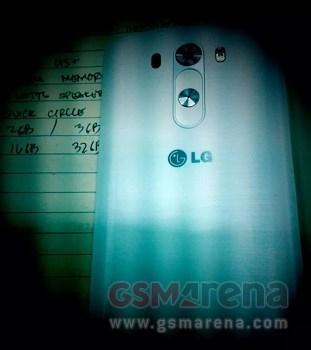 «Шпионское» фото смартфона LG G3 подтверждает измененный дизайн кнопок громкости и включения