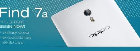 Открыт предзаказ на смартфон Oppo Find 7a в Европе и США