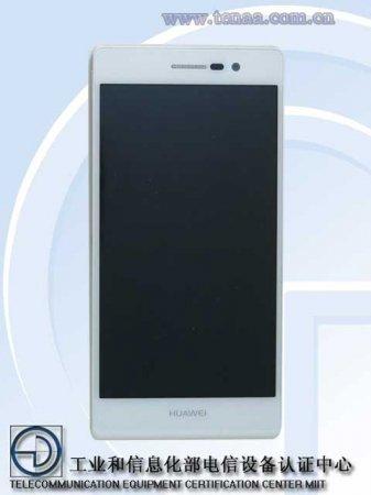 Фото Huawei Ascend P7 появились на сайте китайского регулятора TENAA