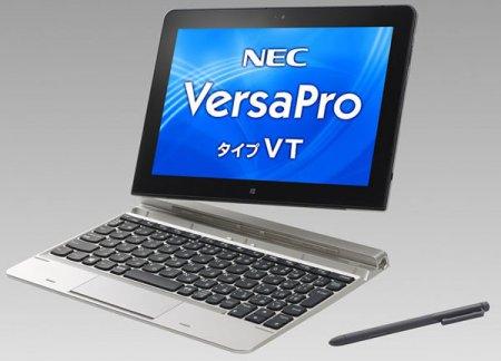 NEC использует в новой версии планшета VersaPro VT процессор Intel Atom Z3795