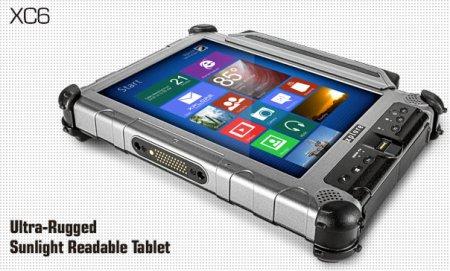 Xplore XC6: «неубиваемый» планшет на платформе Intel