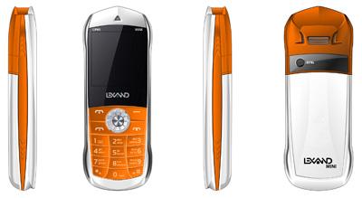Компания Lexand выпустила самый маленький сотовый телефон