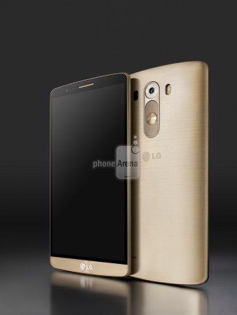 Первые пресс-фото смартфона LG G3