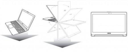 13,3-дюймовый ноутбук ASUS TP300L с трансформирующейся конструкцией