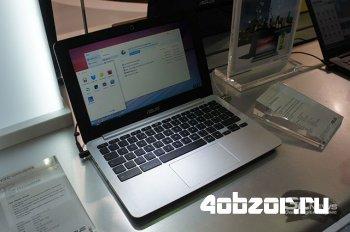 новинка Computex 2014: ASUS представила хромбуки C200 и C300