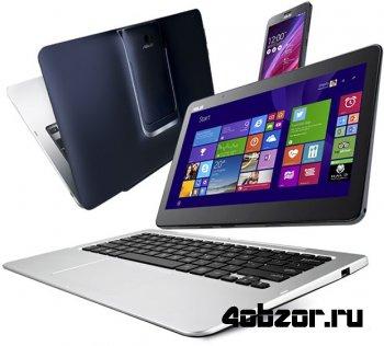 новинка Computex 2014: ASUS Transformer Book V — гибрид Windows-ноутбука и Android-смартфона