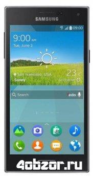 новинка Samsung Z – первый в индустрии смартфон на базе ОС Tizen
