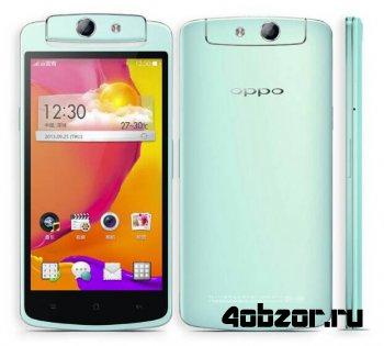 новинка Oppo презентовала смартфон N1 mini с 13-мп вращающейся камерой