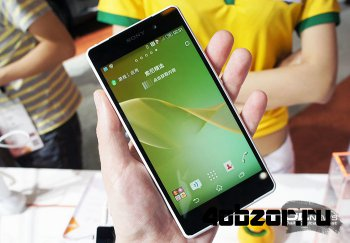 новинка Mobile Asia Expo 2014: пластиковая версия Sony Xperia Z2 для China Unicom