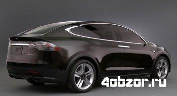 новинка Производство кроссовера Tesla Model X стартует в начале 2015 года